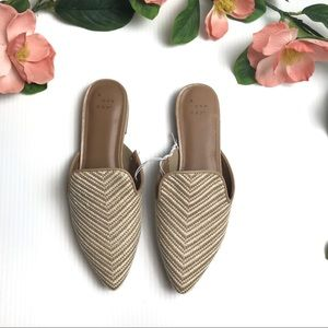 A New Day Rachel Mules | New With Tags | Sz 6
